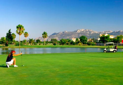 Oliva Nova golf course: one of the Costa Blanca favorites
